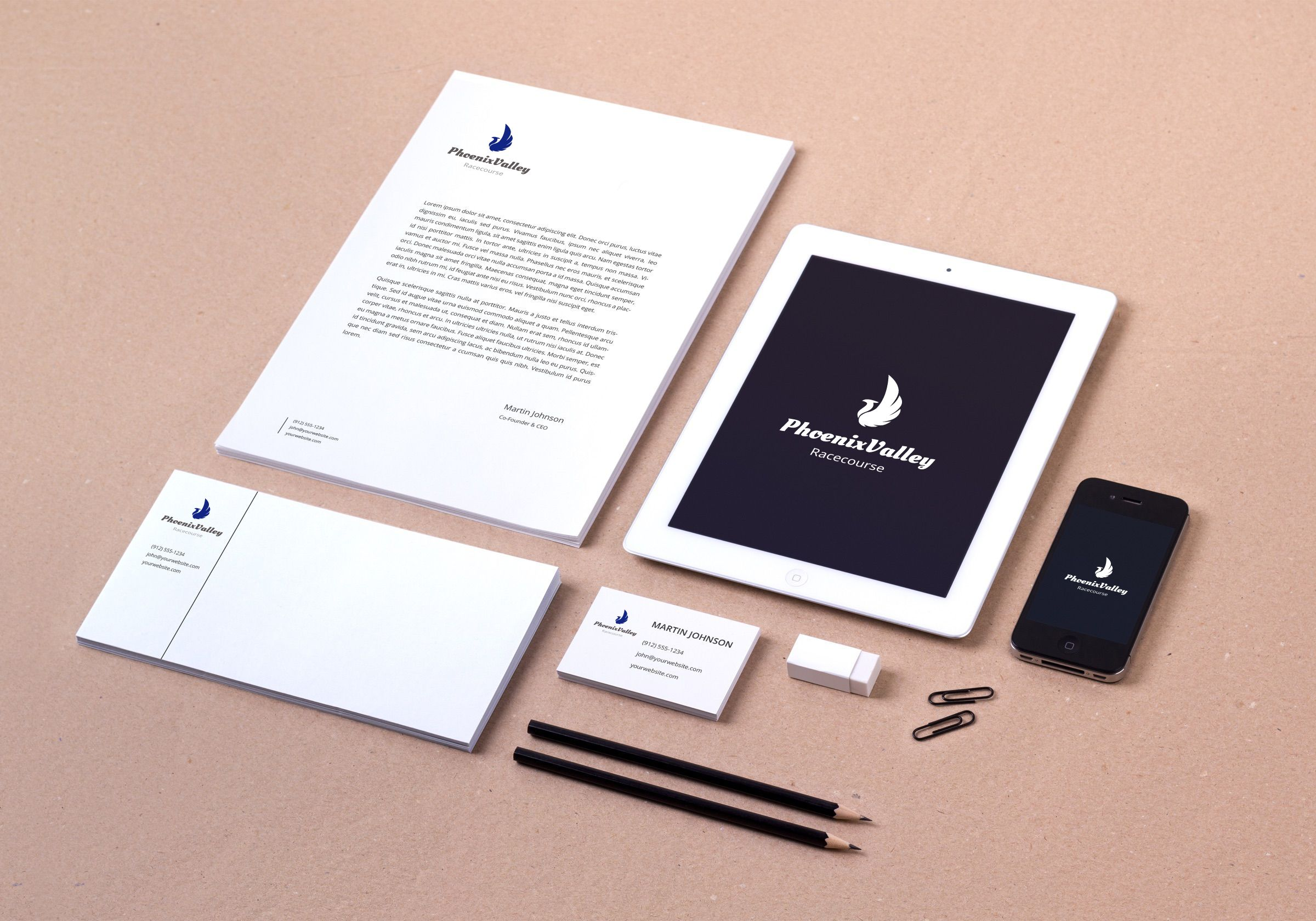 mockup document set